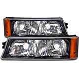 Chevy CK Truck/Silverado Park Signal Lights OE Style Replacement Driver/Passe...