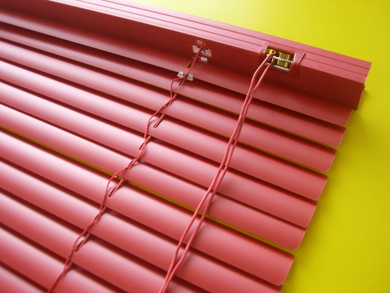 Jellinghaus Sonnenschutz PVC-Jalousie rot 50 x 160 cm