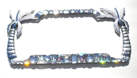 Amazon.com: Palm Trees Chunky Mix AB and Clear Crystal Rhinestone ...