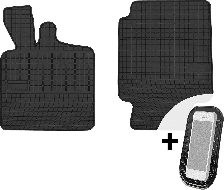 Gummimatten Auto Fußmatten Gummi Automatten Passgenau 2 Teilig Set Passend Für Smart Fortwo 1998 2007 Auto