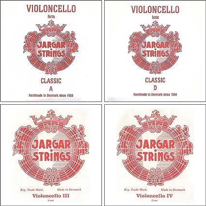 Chromesteel Jargar 4//4 Cello G String Thick Forte