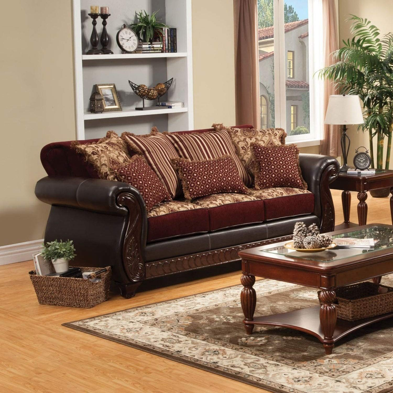 Amazon.com: Muebles de América Franchesca estilo tradicional ...