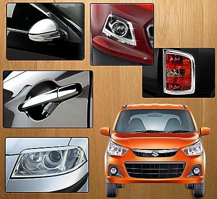 Auto Pearl Chrome Plated Car Accessory For Maruti Suzuki Alto K10