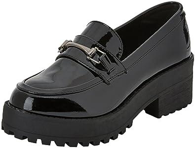 COOLWAY - Cherblu - Chaussures à Lacets - Femme - Noir (Abk) - 39 EU mWXno