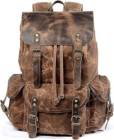 Unisex backpack Laptop backpack leather Large travel backpack Brown laptop backpack leather Brown leather backpack Handmade backpack