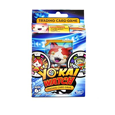 Yokai Watch Trading Card Game Jibanyan and Walkappa Starter Pack: Toys & Games