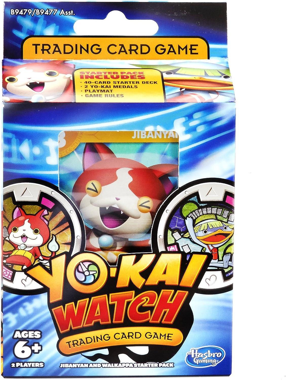 Amazon Com Yokai Watch Trading Card Game Jibanyan And Walkappa Starter Pack Toys Games