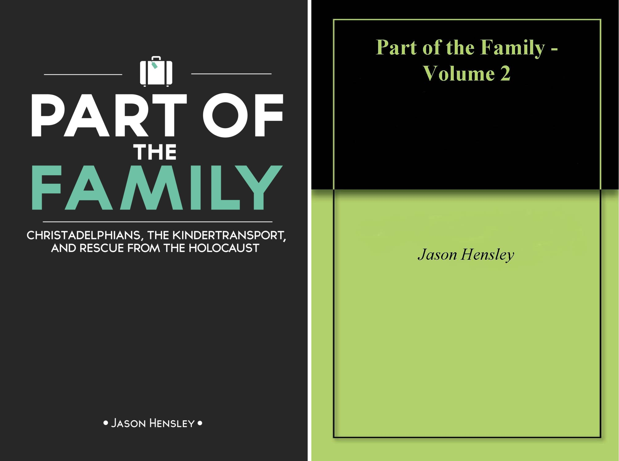 Part of the Family (2 Book Series)