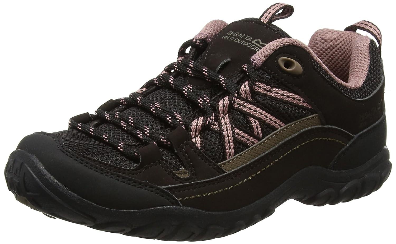 Lady Edgepoint II, Zapatillas de Senderismo Mujer, Marrón (Peat/ashrose), 41 EU Regatta