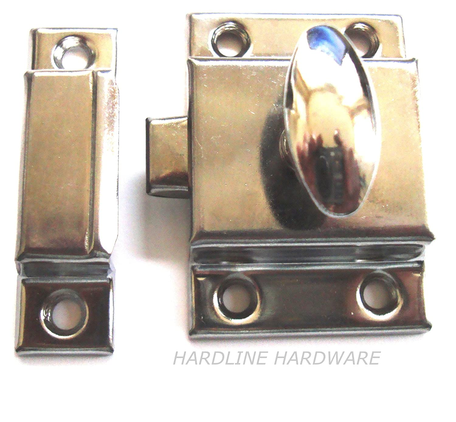 door itm chrome pcs latch hardware cabinet double cupboard roller copper catches