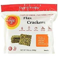 Ener-G Foods Flax Crackers, Gluten Free, 255 Grams
