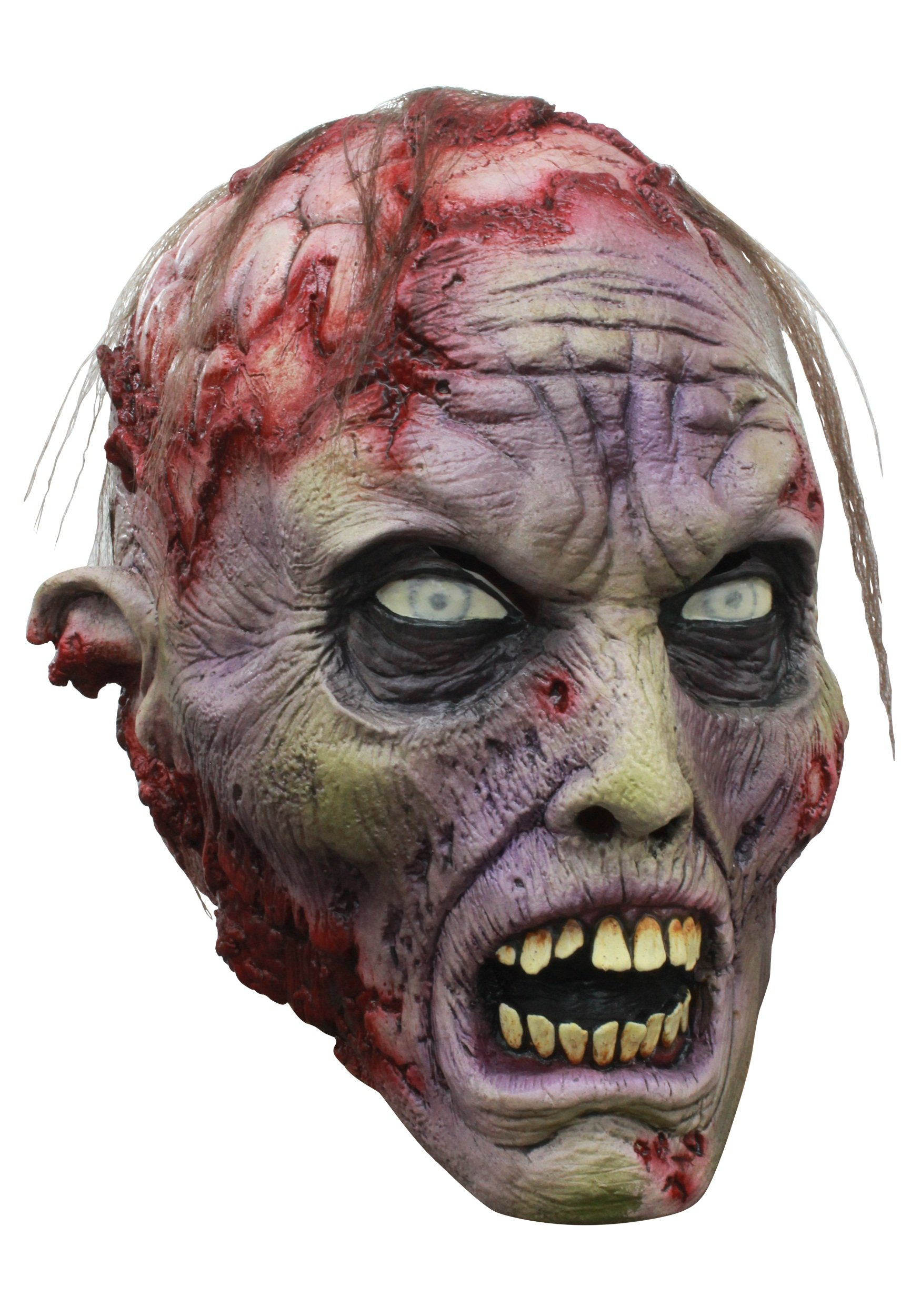 Ghoulish Productions Brains! Zombie Mask - ST