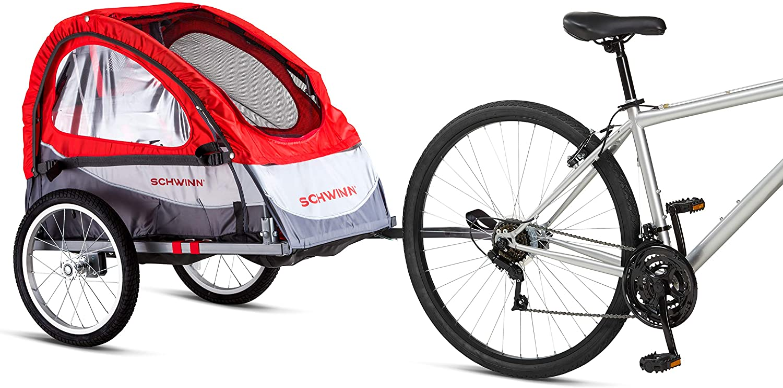 schwinn joy bike trailer