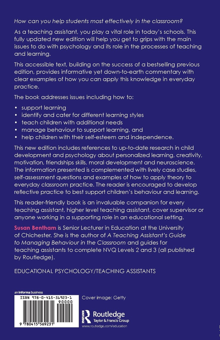 A Teaching Assistant's Guide to Child Development and Psychology ...