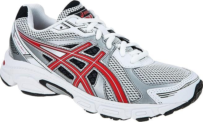 ASICS Gel Galaxy 7 GS - Zapatillas de Running para niño, Color Blanco/Rojo/Negro, Talla 37: Amazon.es: Zapatos y complementos