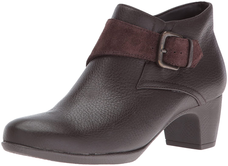 SoftWalk Women's Imlay Boot B019QJJJNE 6 N US Dark Brown