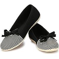 Alexa Women's Velvet Belly Shoes