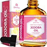 Jojoba Oil by Leven Rose, Pure Cold Pressed Natural Unrefined Moisturizer