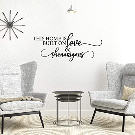 Wall Decals Sticker Home Decoration Inspirational Quotes Art Bedroom House Decor