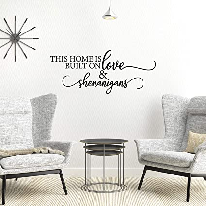 My Vinyl Story - Family Wall Decals for Living Room Decor Family Wall Decor  Wall Stickers Decorations Home Art Bedroom Love Decals Quotes Word (This ...