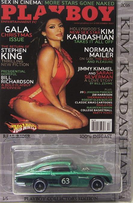 Amazon Com Hot Wheels Custom Aston Martin Playboy Kim Kardashian