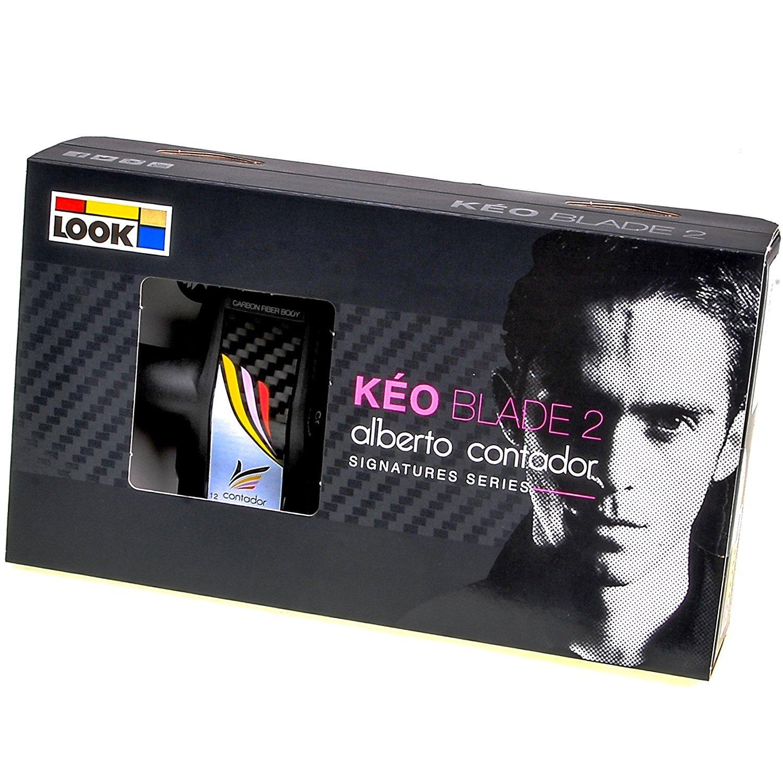 LOOK(ルック) KEO ブレード2 限定モデル<コンタドール> クロモリアクスル ペダル [並行輸入品] B072JR5ZHS 16Nm