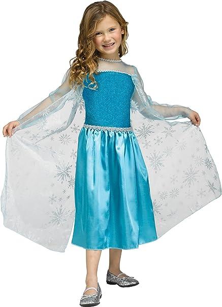 Niñas Disney Frozen Elsa Reina de hielo inspirado Halloween ...