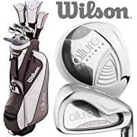 Wilson 2018 Prostaff Allure Ladies Complete Golf Set +Deluxe Cart Bag
