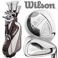 Wilson 2018 Prostaff Allure Ladies Complete Golf Set +Deluxe Cart Bag