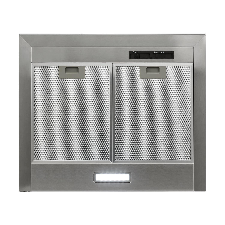 Klarstein Galina • Campana extractora • Extractor de pared • Succión y circulación de aire • 3 niveles • Vidrio acrílico • Succión de hasta 350 m³/h • 60 cm ...