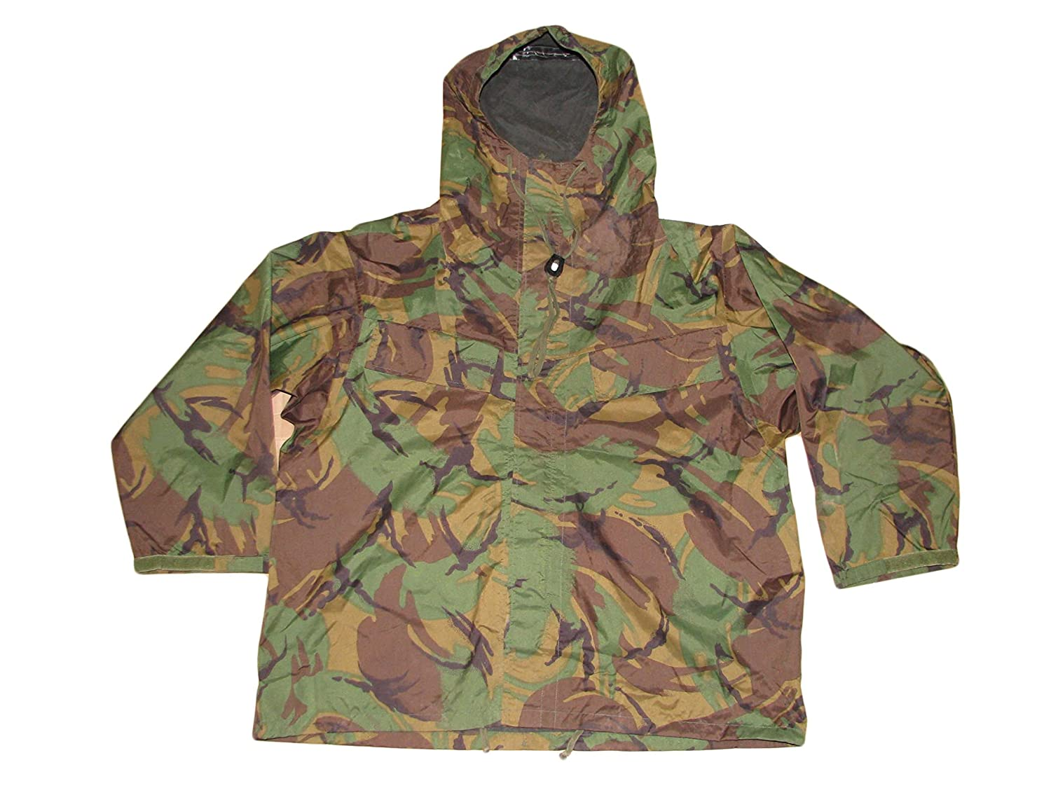 e6b25398d Genuine British Army Issued Surplus Windproof Waterproof SMOCK Rain Jacket  DPM Camo, Grade 1 (170/110): Amazon.co.uk: Clothing