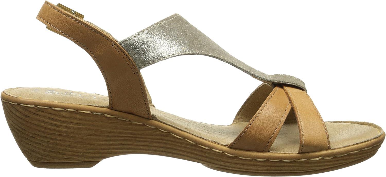 Bella Vita Made in Italy Womens Gubbio Wedge Sandal