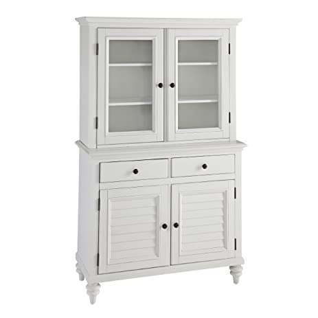 Home Styles 5543 617 Bermuda Buffet And Hutch Brushed White