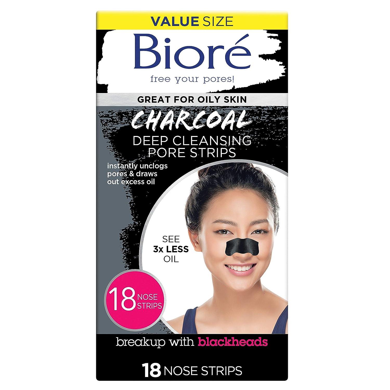 Bioré Charcoal Pore Strips