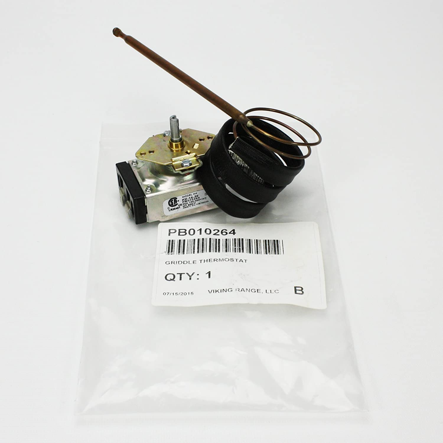 PB010264 Griddle or Left Oven Thermostat
