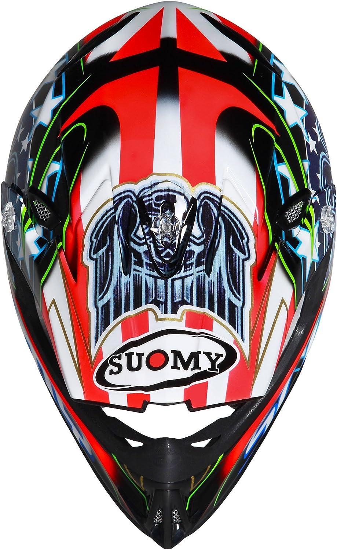 Casque moto cross SUOMY MR JUMP VORTEX BLUE XS