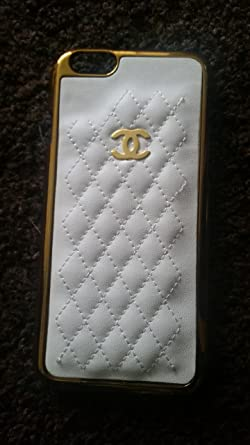low priced 75204 d229d Luxury CHANEL iPhone 6 Case: Amazon.co.uk: Electronics
