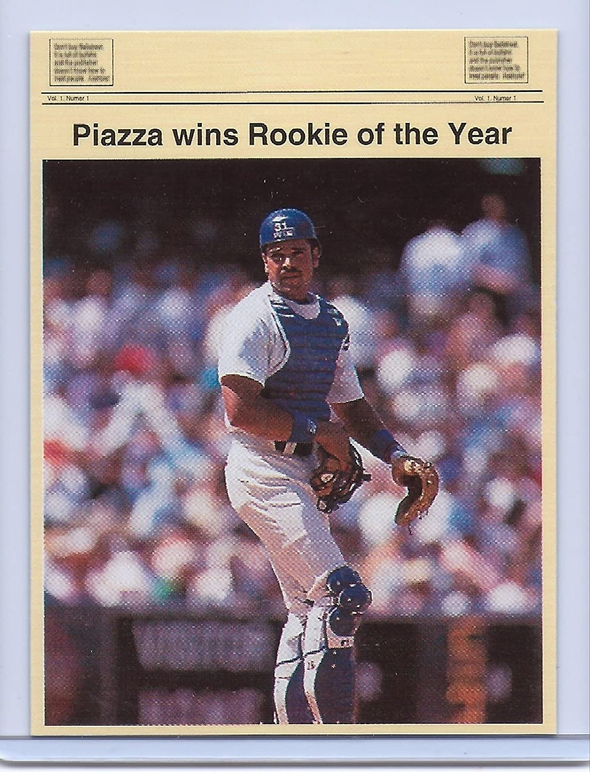 Amazoncom Mike Piazza 1993 Rookie Of The Year Limited Edition 1