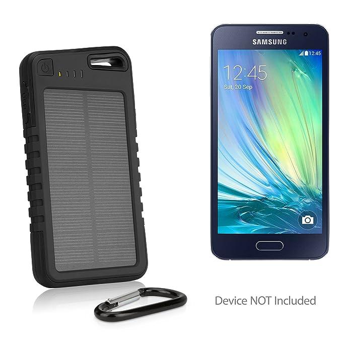 Samsung Galaxy A3 (2017) recargable, BoxWave [Solar Rejuva ...
