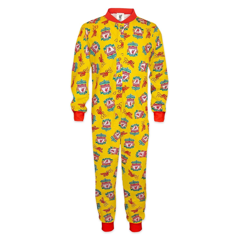 Liverpool FC - Pijama de una pieza para niños - Producto oficial: Amazon.es: Ropa y accesorios