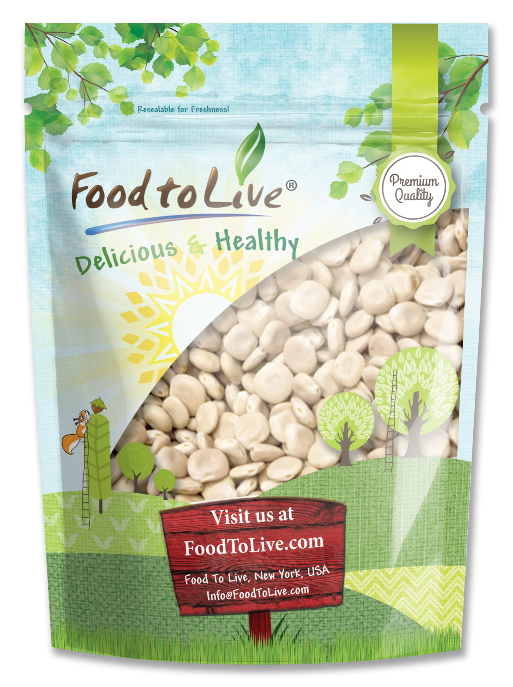 Food to Live Lupini Beans (Kosher) (3 Pounds)