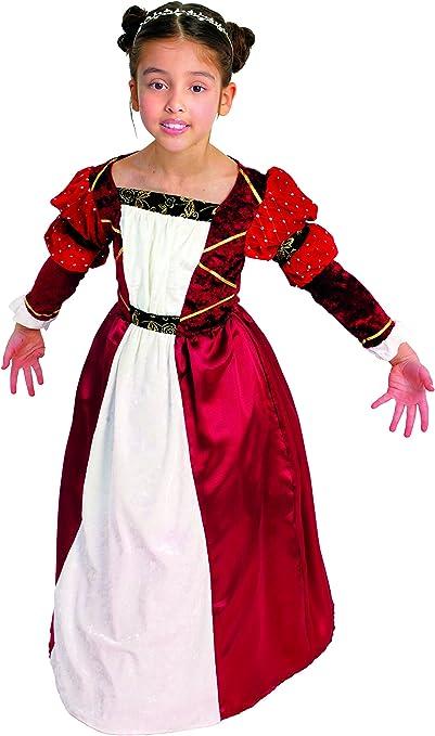 César B513-003 - Disfraz infantil de princesa medieval (8-10 años ...
