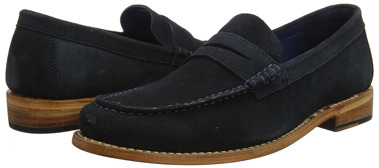 Chatham (Navy Herren McQueen Slipper Blau (Navy Chatham Suede 003) 5210a3