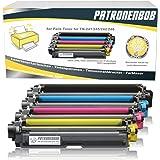 5Pack cartuchos Bob® XL–Tóner compatible con Brother TN 241TN de 245para Brother MFC de 9142cdn, Brother DCP de 9022cdw, MFC de 9342cdw, MFC de 9332cdw, HL-3150CDW, HL-3170CDW–TN-241BK) TN-245C TN-245M TN-245Y–Negro 2.500páginas, color cada 2.200páginas, color (1) 5 er Set