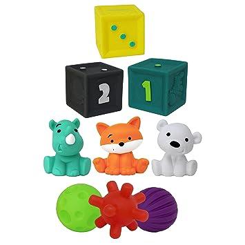 Amazon.com: Infantino - Juego de 9 juguetes: Baby