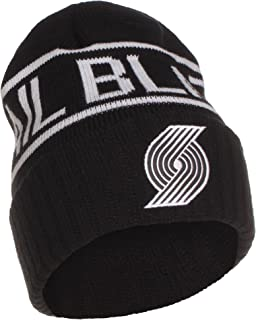 b7bb38aedff9e5 Mitchell & Ness NBA Portland Trailblazers Cuffed Beanie Knit Hat - Osfa -  KT58Z