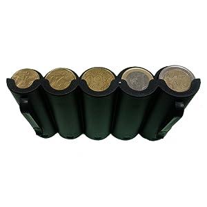 Monnayeur 5 pièces euro en PVC idéal serveur