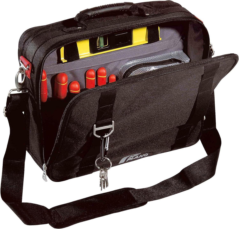 Noir Plano PLO02711NR Sacoche porte-outils professionelle en tissu sp/écial renforc/é
