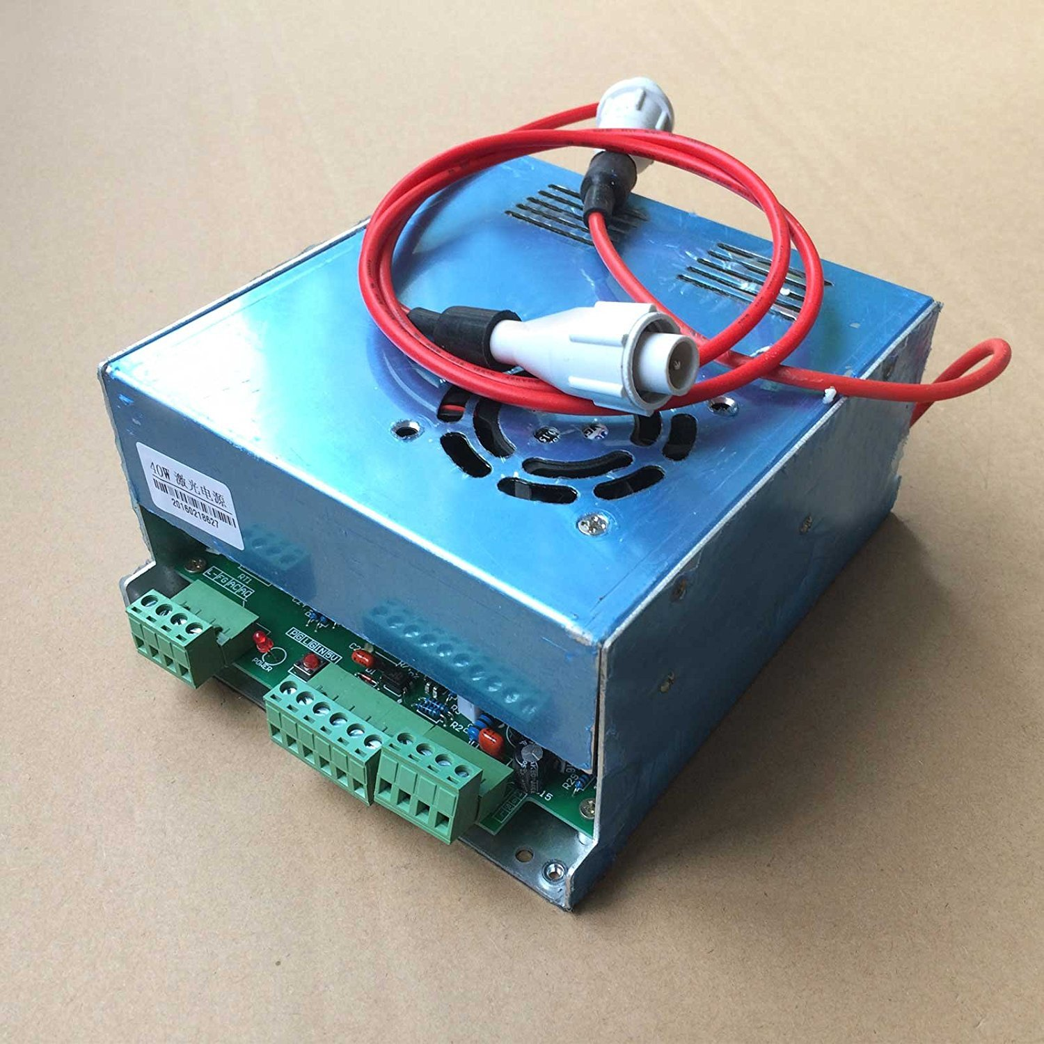40w Power Supply Co2 Laser Engraver Cutter 110v 220v Hv K40 Wiring Diagram Connector Green Port Computers Accessories
