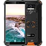 Rugged Smartphone Unlocked OUKITEL WP5(2020) Android 10 Cell Phone 8000mAh Battery 4GB+32GB Triple Camera 4 LED Flashlights I